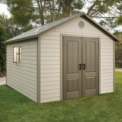 Lifetime 6415 11 By 13 1 2 Foot Outdoor Storage Shed