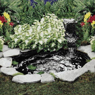 cascade and pond kit 200 gph 110 volt landscape lighting