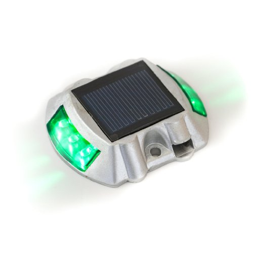 solar led road stud deck dock lights green landscape lighting. Black Bedroom Furniture Sets. Home Design Ideas