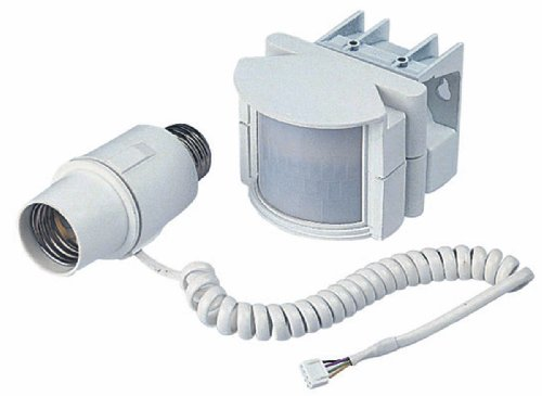 Heath Zenith SL 5212 WH A Screw In Motion Sensor Light Control White Lands