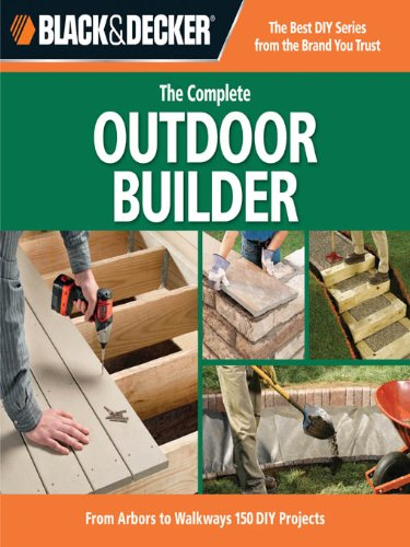 Black Amp Decker The Complete Outdoor Builder From Arbors
