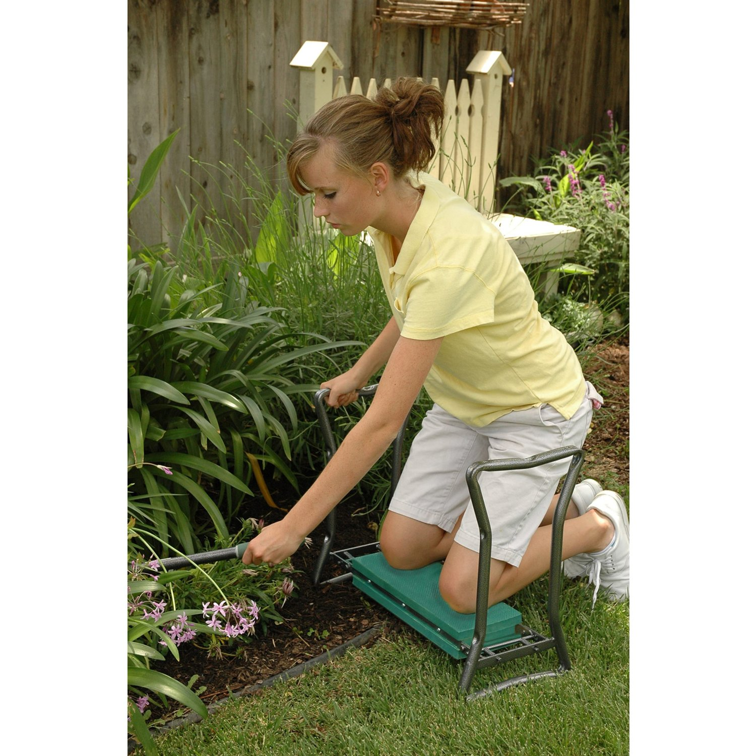 garden kneeler and seat from yard butler landscape