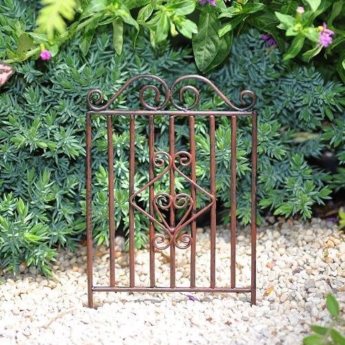 Miniature Fairy Garden Garden Gate Landscape Lighting