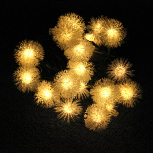 Solar Outdoor String Lights By Innoo Tech: Innoo Tech 4.8m 20 Led Warm White Chuzzle Solar Fairy