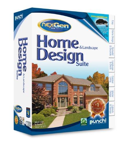 Home Landscape Software Features: Punch Software Home And Landscape Design Suite Nexgen 2