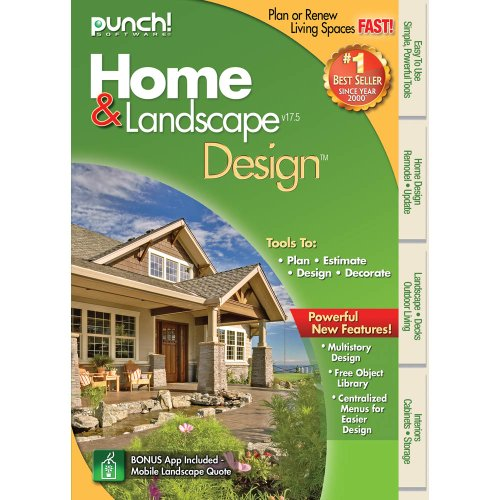 Punch home landscape design 17 5 download landscape lighting for Punch home design