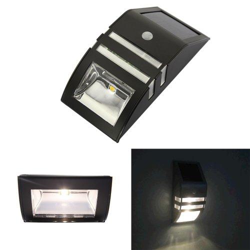 Bright Led Wall Lights : ABS Solar Motion Sensor Super Bright LED Wall Light Landscape & Lighting