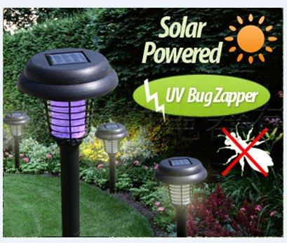 Rextin High Quality Outdoor Yj 1053 Solar Uv Bug Zapper