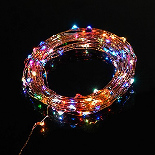 TaoTronics TT-SL037 Color Led String Lights in 7 rainbow colors Landscape & Lighting