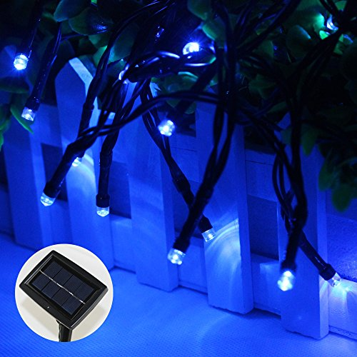 Esco Lite 200led Solar Fairy String Rope Lights With