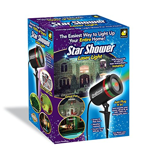 star shower outdoor laser christmas lights star projector