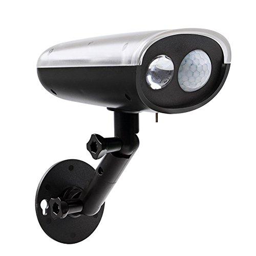 motion sensor spot light outdoor solar lights wireless motion detector. Black Bedroom Furniture Sets. Home Design Ideas