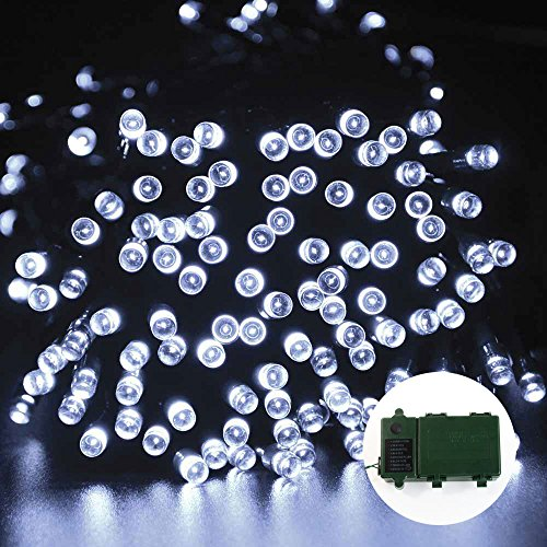 200 led fairy christmas lighting d cor 8 modes automatic timer. Black Bedroom Furniture Sets. Home Design Ideas