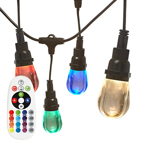 Outdoor String Lights Heavy Duty: Newhouse Lighting RGBWSTRING18 Outdoor LED Color Changing