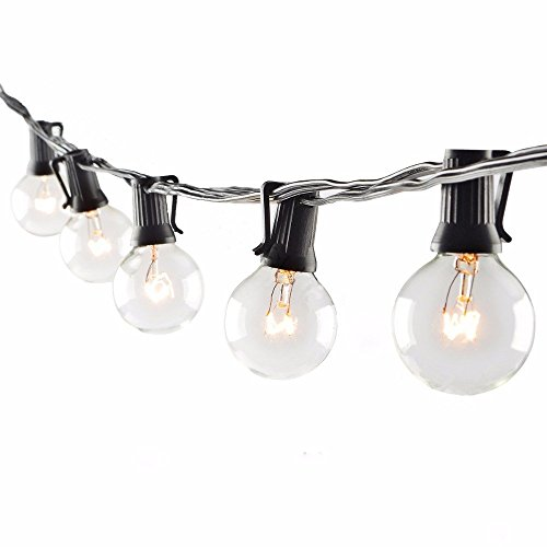 Sunsgne 100ft Outdoor Patio String Lights With 100 Clear