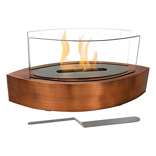 Sunnydaze Barco Tabletop Fireplace Indoor Ventless Bio