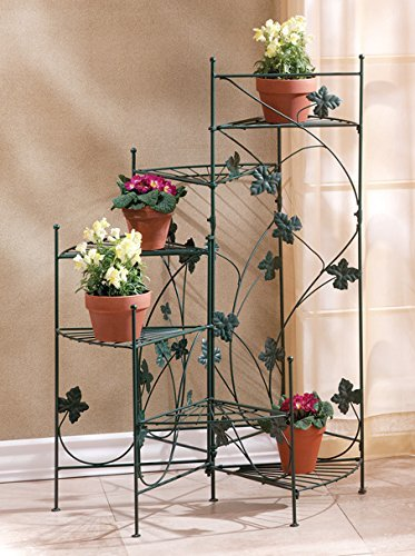 Garden Planters Multi Tiered Decor Patio Corner Potted