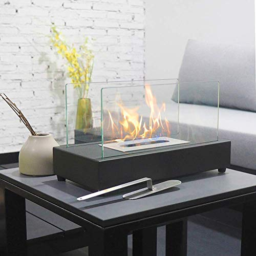Art To Real Rectangle Tabletop Bio Ethanol Fireplace