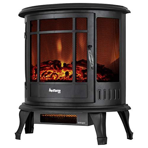 E Flame Usa Regal Portable Electric Fireplace Stove Matte